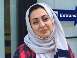 Amaira Wallabi, a Saudi-American, adamantly opposes Trump's rhetoric