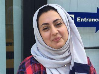Amaira Wallabi, a Saudi-American, adamantly opposes Trump's rhetoric